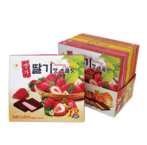 KRC003 명가과일맛초콜릿192 | Assorted Fruit Chocolate | 名家水果味巧克力(大) (192g, 12pack)