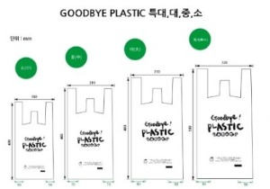 Biodegradable Shopping Bag | Eco Friendly Disposables | Biodegradable carry bags│친환경 생분해 쇼핑백
