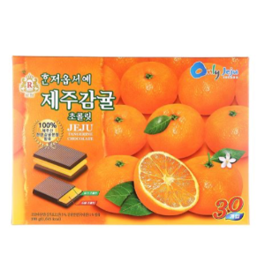 KRC007 혼저옵서예제주감귤초콜릿300 | Welcome to Jeju Tangerine (Pouch) | 濟州島方尖碑濟州柑橘330 (300g, 14pack)