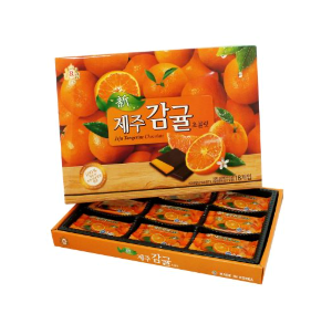 KRC001 신제주감귤초콜릿180 |New Jeju Tangerine Chocolate | 新济州島柑橘巧克力|(180g/16pack)